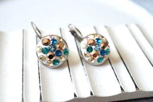 swarovski kristallidega kõrvarõngad
