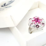swarovski kristallidega sõrmus