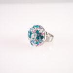 swarovski kristallidest sõrmus