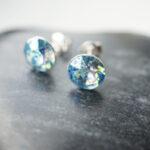 kristallidega kõrvarõngad
